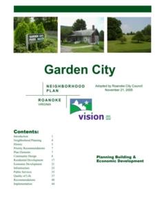 Garden City Neighborhood Plan