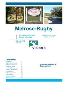 Melrose-Rugby Neighborhood Plan