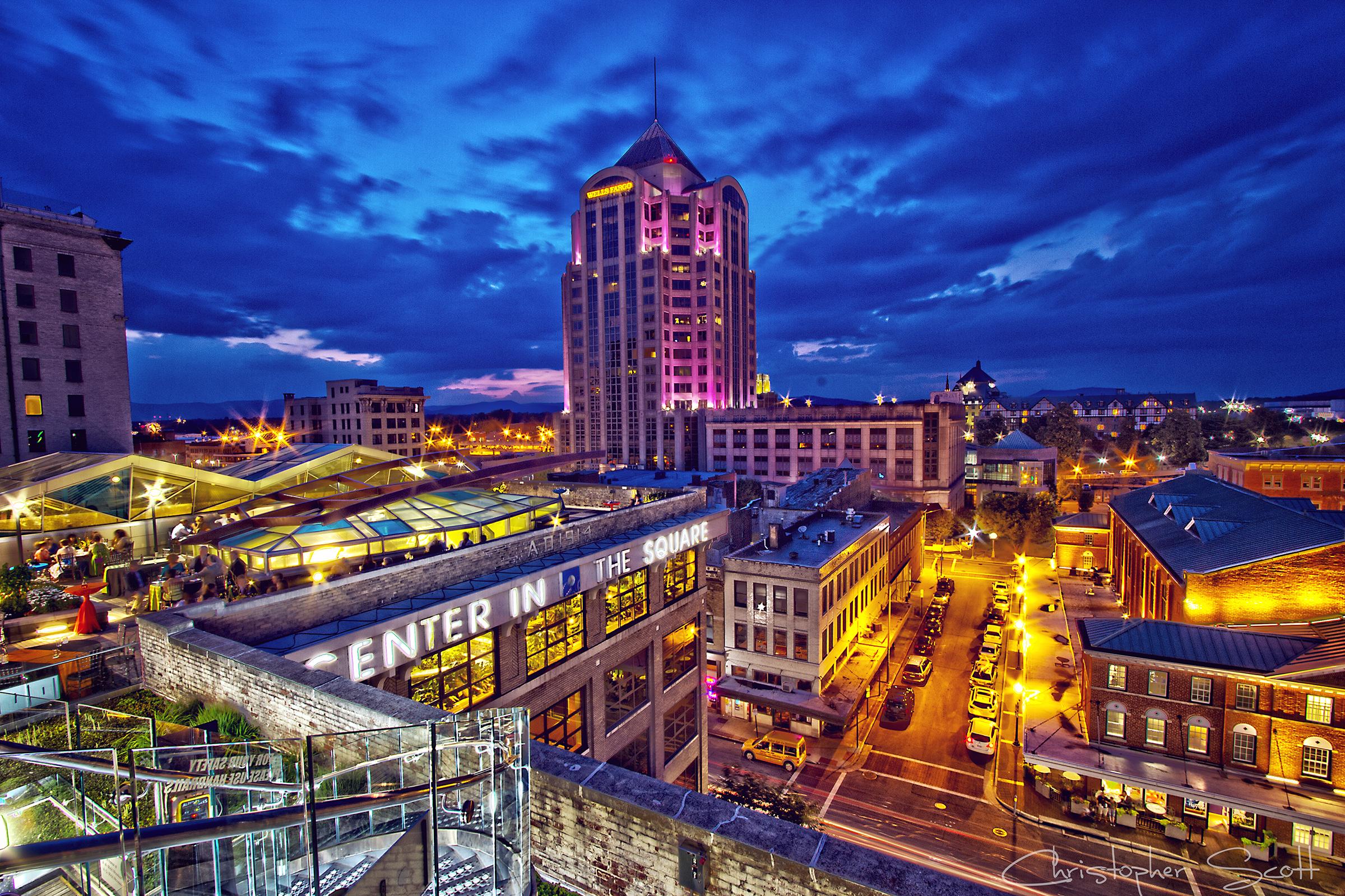 Downtown Roanoke, Virginia